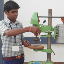 Vocational training for a tribal youth